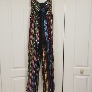 Womens L'Atiste by Amy Sequin jumpsuit NWT